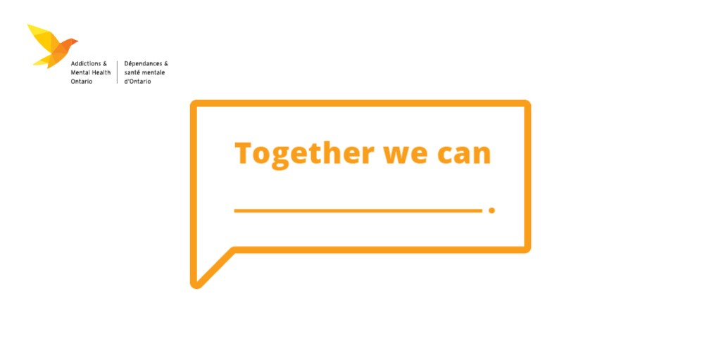 AMHO is proud to participate in Bell Let's Talk Day with Together We Can