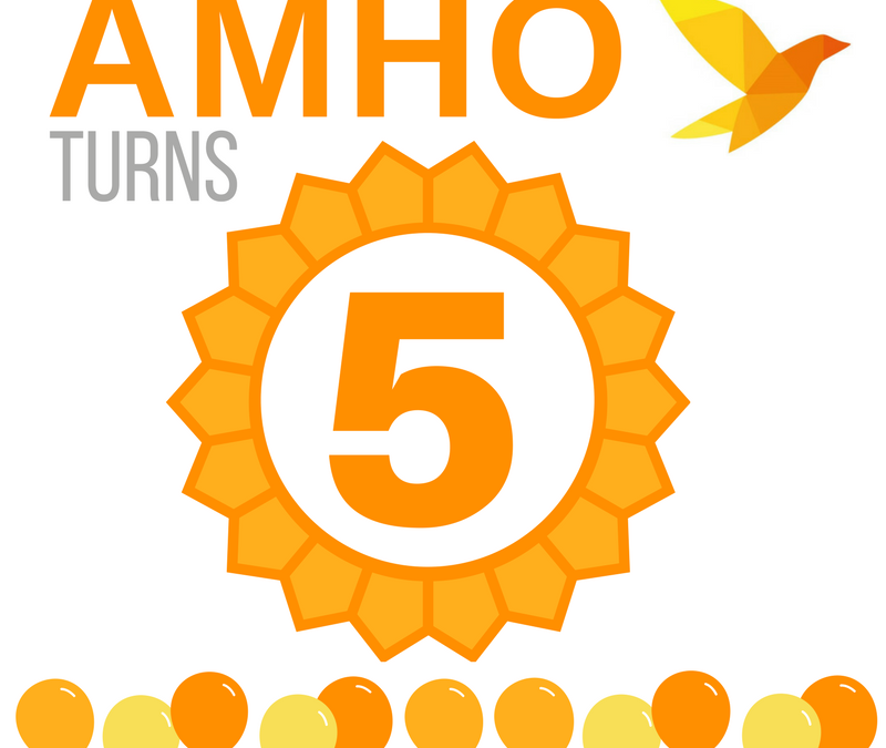 Stronger Together: AMHO celebrates 5th birthday!