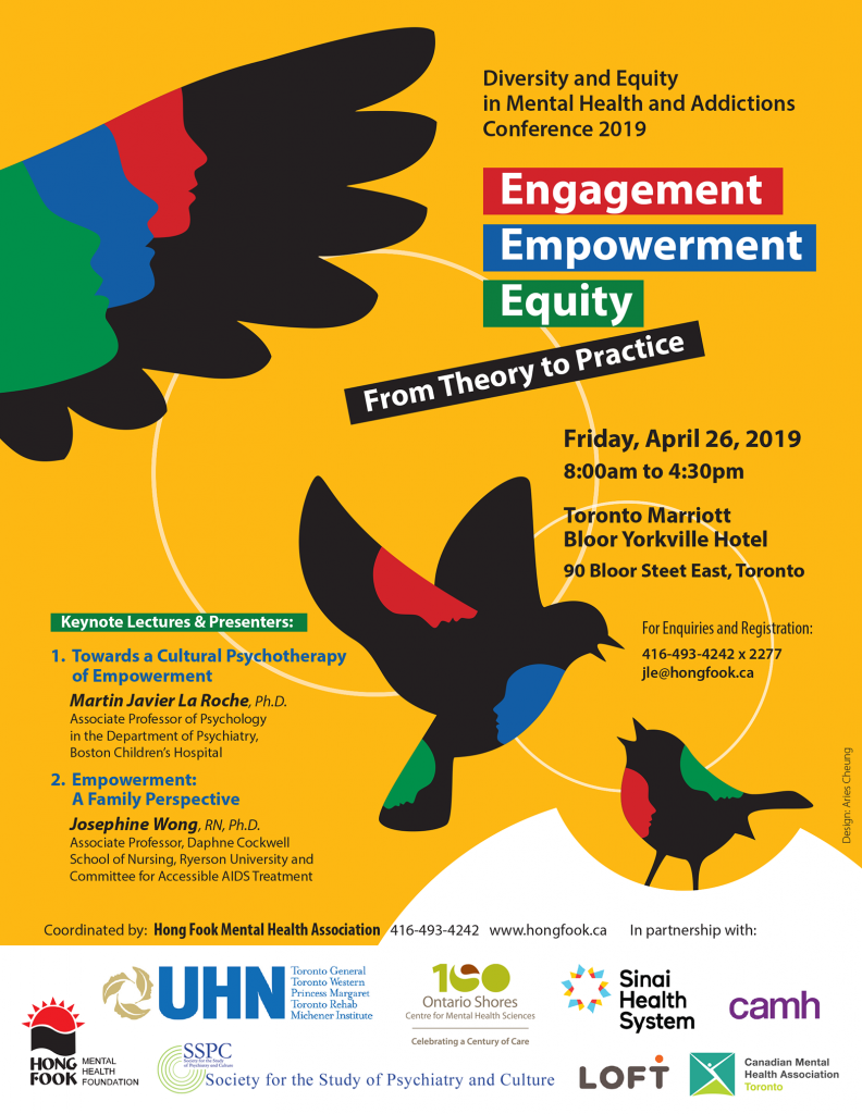 Diversity and Equity in Mental Health and Addictions Conference 2019 - AMH  Ontario