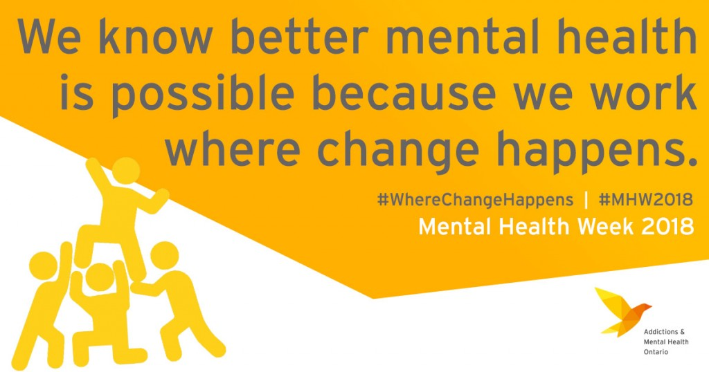 Mental Health Week: Where Change Happens