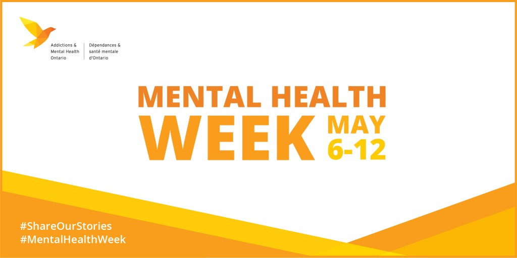 Addictions and Mental Health Ontario is pleased to participate in Mental Health Week